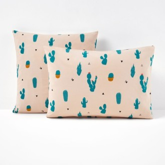 11 taie d'oreiller cactus 4,54 euros, la redoute