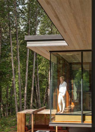 Architecte : Trevor McIvor Architect Inc Designer : Steve Choe Décorateur : Dorota Jackowski Localisation : Whitby, Toronto GTA, Ontario 2017-18 Constructeur : Ortolan Building Design Ltd Photo : Adrian Ozimek