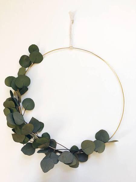 Ces anneaux légers pourront décorer facilement vos murs. © Pinterest