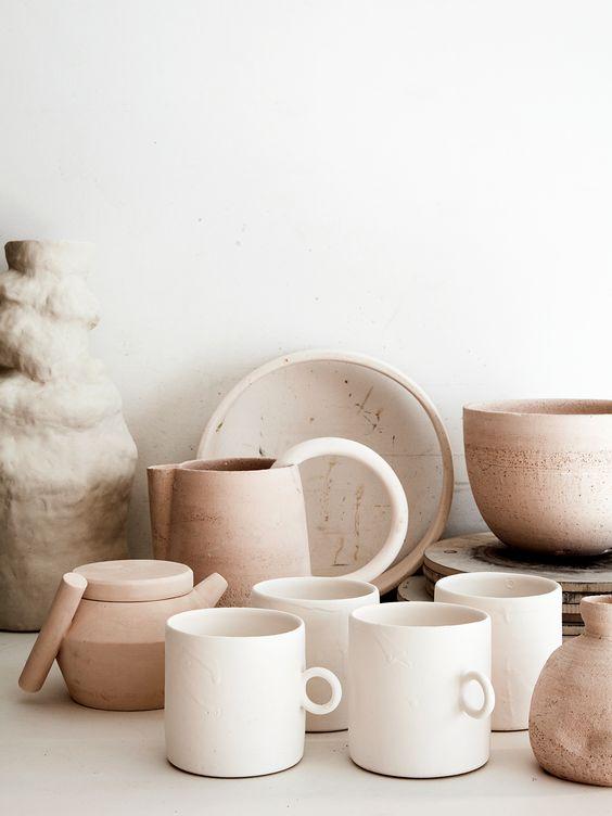 tasses en céramiques