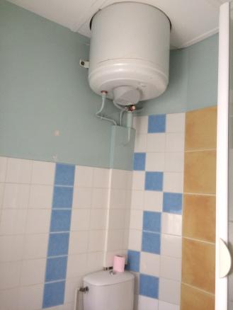 Salle de bain avant