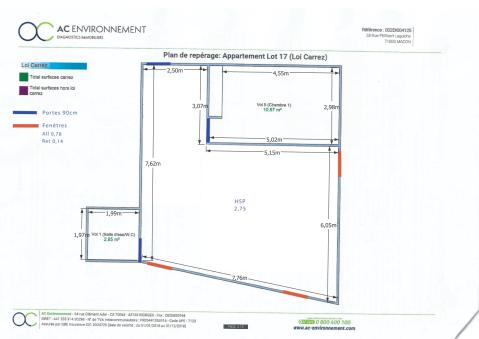 Plan appartement Mâcon