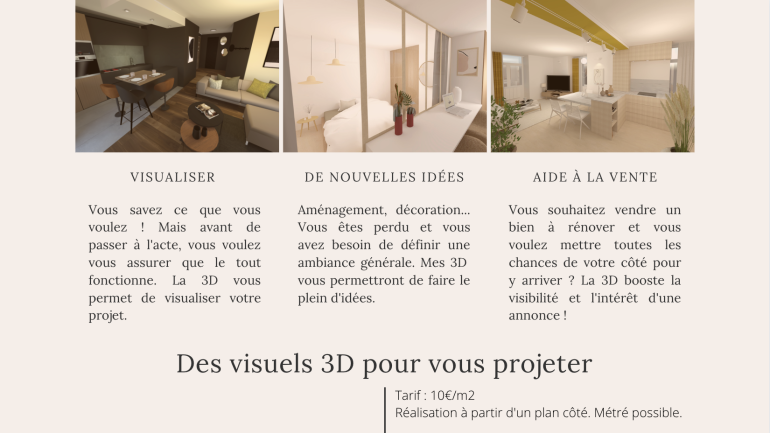 prestation visuels 3D